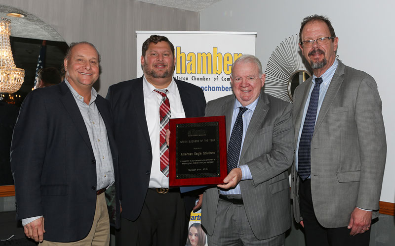 CAN BE Chamber award American Eagle Solutions